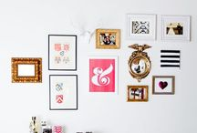 gallery wall / by Kayleigh Brynn