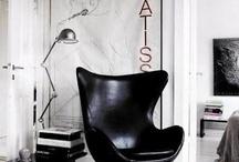 Black&White Interiors