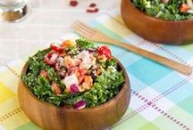 Salads / Not your ordinary salad! Change it up with quinoa or beets!