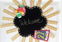 School Ideas / Classroom, bulletin boards, snacks, crafts and other School Ideas to make learning awesome!