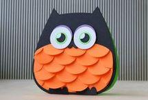 Creative Ideas - Halloween Cards & Tags / Halloween / by Peg Chapleau
