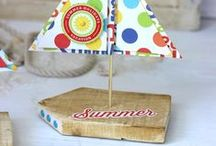 Summer Ideas / Summertime Ideas full of fun in the sun ideas, cool recipes, outdoor activities, summer crafts and decorating.
