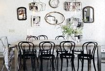 Home Inspiration: Dining Room / Inspiration for my eclectic dining room / by Cassie Bustamante (Primitive & Proper)
