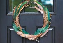DIY Home: Wreaths / Wreath and door decor ideas / by Cassie Bustamante (Primitive & Proper)