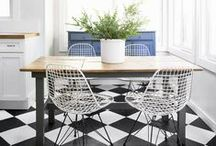 Pretty Spaces: Dining Rooms / Beautiful and eclectic dining spaces / by Cassie Bustamante (Primitive & Proper)