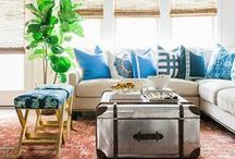 Pretty Spaces: Living & Family Spaces / gorgeous living rooms and family rooms / by Cassie Bustamante (Primitive & Proper)