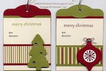 Tag You're It ( Christmas Gift Tags)