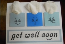 Get Well Soon-Cards / by Terry Gozdur