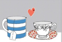 Cups and tea illustrations / by Sara Piersanti