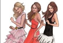 Girls illustrations / by Sara Piersanti