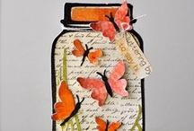 Jar of card ideas / by Terry Gozdur