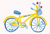 Bikes illustrations / by Sara Piersanti