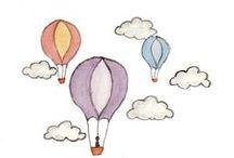 Balloons illustrations / by Sara Piersanti