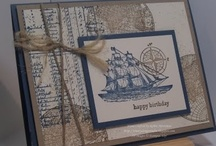 Open Sea Stampin'Up and Nautical Cards / by Terry Gozdur