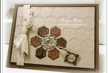 Hexagon Cards / by Terry Gozdur