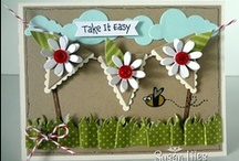Petite Pennant Stampin'Up/Pennant Cards / by Terry Gozdur