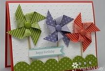 Pinwheel Cards / by Terry Gozdur