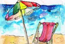 Beach illustrations / by Sara Piersanti