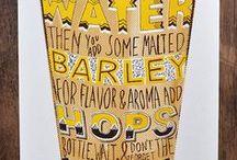 Beer Art / Art inspired by beer
