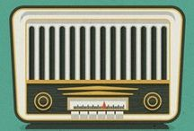Radio and listening to music illustrations / by Sara Piersanti