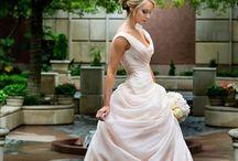 wedding attire / wedding dress, bling, shoes, rings, bridesmaids, hair, girly-ness #alenaswansonllc / by Alena Swanson, Wedding Planner
