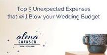 Wedding Tips / Advice for planning your wedding!  #alenaswanson #weddingplanner #weddingindustryexpert