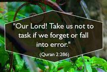 Quran Duas / Islamic Duas and supplications from the Holy Quran / by QuranReading.com