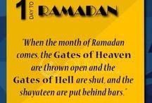 Ramadan Countdown / #Islam #Quran #Ramadan #Allah #ThingsToDo / by QuranReading.com