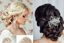 Wedding Hair & Makeup / Wedding Hair & Makeup Styles #alenaswanson #weddingplanner #weddingindustryexpert