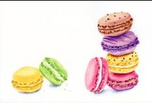 Macarons illustrations / by Sara Piersanti