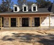 Southern Living Showcase Home Georgetown 2017 / Pictures of progress being made on the 2017 Souther Living Showcase home.  This year it is located in Georgetown, SC.
