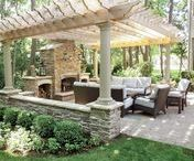 Outdoor Space Ideas / Living in the south means getting to enjoy the outdoors and warm weather. Here are some ideas on how to utilize your outdoor space.