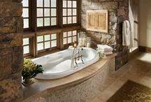 Home: Bathrooms! / by Kassandra Raleigh