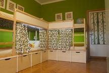 Kids Rooms & Playrooms / by Kristen Heavner