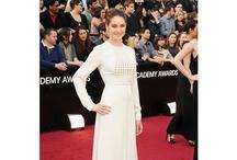2012 Oscars: Stars in White