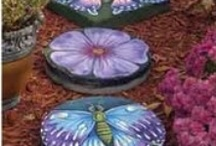 Garden Art Accents, Feeders & Funky Junk / by Lori Cook