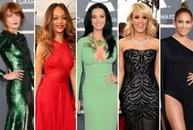 2013 Grammy Awards Fashions