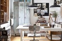 Workspace / #designer #workspace #office #studio #desk #setup #interior
