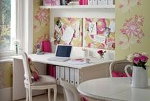 Decorating Your Home Office / Home office inspiration for anyone who works from home.