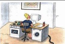 Work At Home Mom Humor / #WAHM Humor