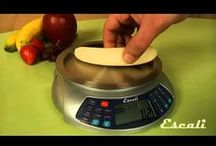 """Escali Product Overviews"" Multifunctional Kitchen & Bathroom scale videos. / If you're looking to purchase or recently purchased an Escali digital scale and need a quick look into the features and benefits of the product, look no further! Here are some YouTube videos that go over each product. Videos for all our products coming soon!"