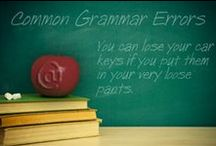 The Grammar Police / The grammar police is here and will arrest anyone with poor grammar!