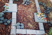 Backyard ideas - kids, entertaining, garden