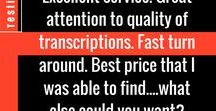 Client Reviews | GMR Transcription / Discover What Our Customers Say About Us!