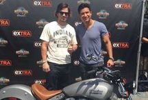 """Celebs Visit """"Extra"""" at Universal! / by ExtraTV"""