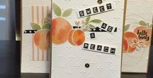 Stampin' Up! DSP - Fruit Stand (Retired)