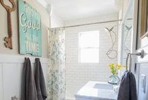 Bathroom / DIY Bathroom Inspiration / by Laura at The Turquoise Home