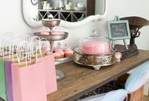 Parties! / by The Turquoise Home | Simple DIY + Home Decor Ideas
