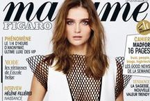 Les couvertures de Madame Figaro en 2012 / Madame Figaro - France