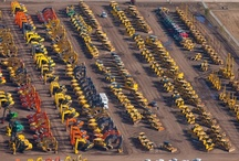 Heavy Equipment Auction Site Aerial Views / by Ritchie Bros.
